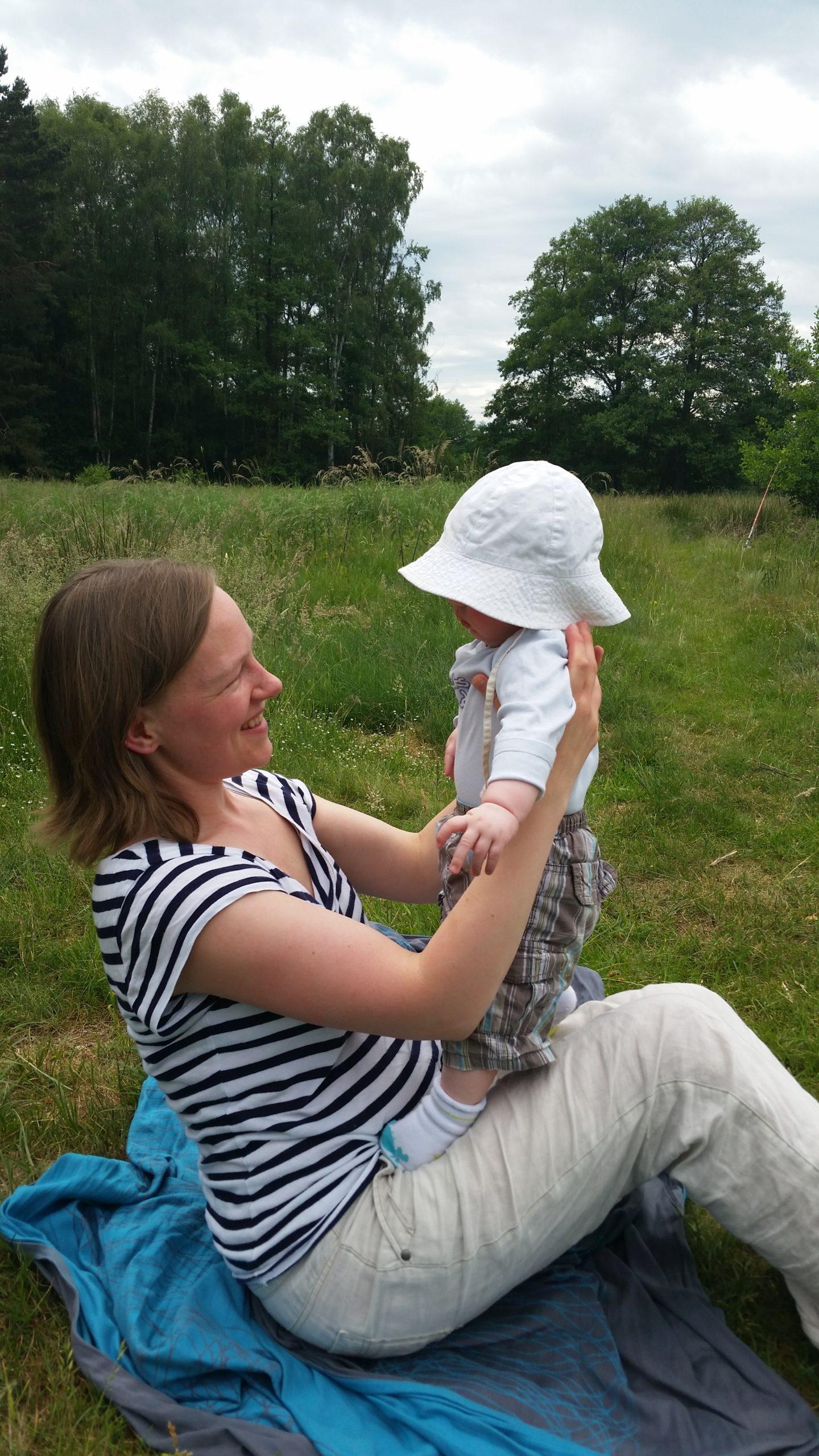 Katharina und Baby